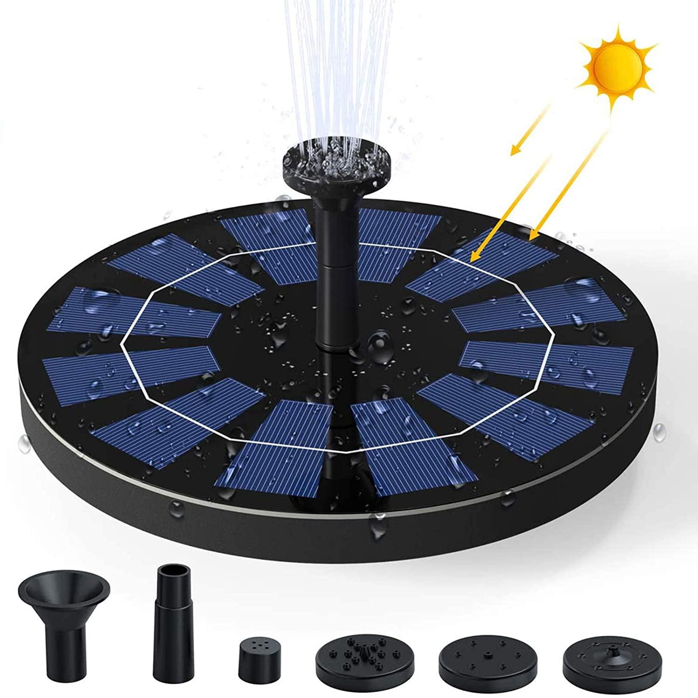 Fuente solar con bomba 2,5W