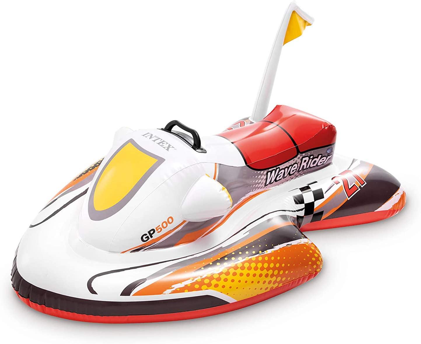 Moto acuática hinchable Intex para niños 117 x 77 cm