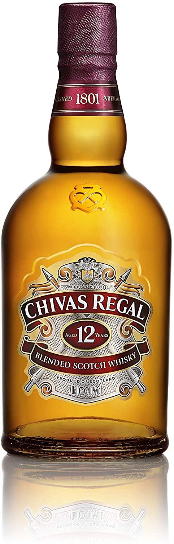 Whisky Escocés Chivas Regal 12 Años 700ml
