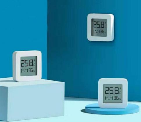 3 unidades Xiaomi Mijia temperatura y humedad
