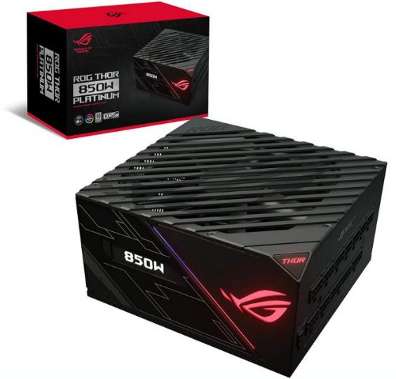 Fuente Modular ASUS ROG Thor-850P Platinum
