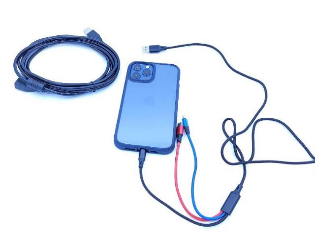 Cable USB carga 3 en 1 + cable USB 3M