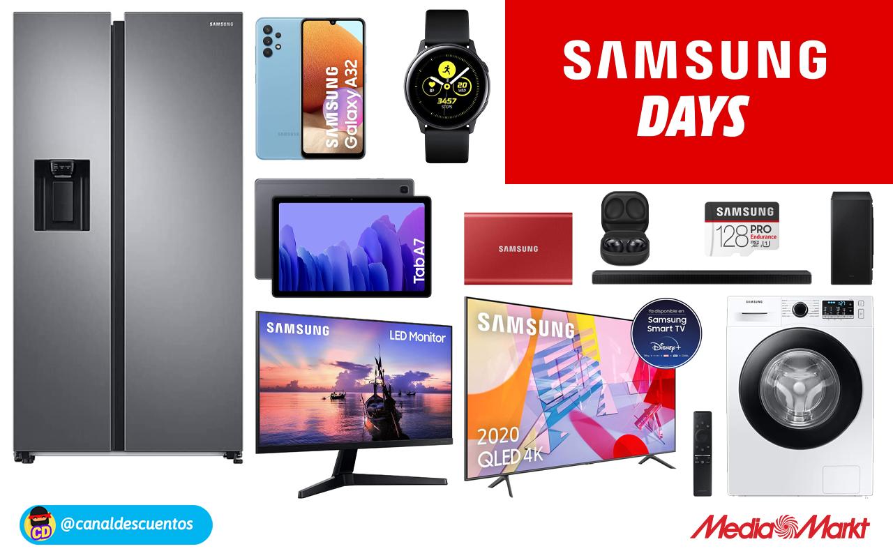 Ofertas en el Samsung Day de Mediamarkt