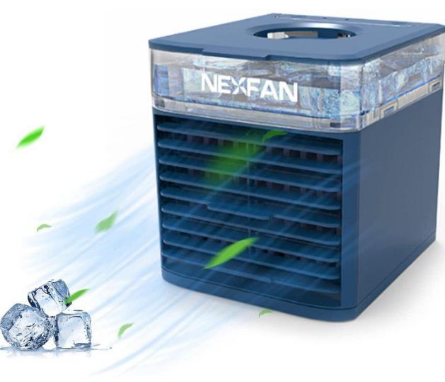 Aire acondicionado/humidificador portátil 3 vel