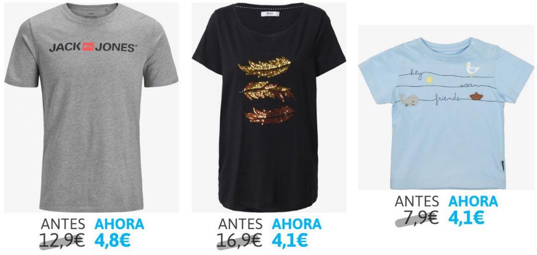 Liquidación de camisetas en About You