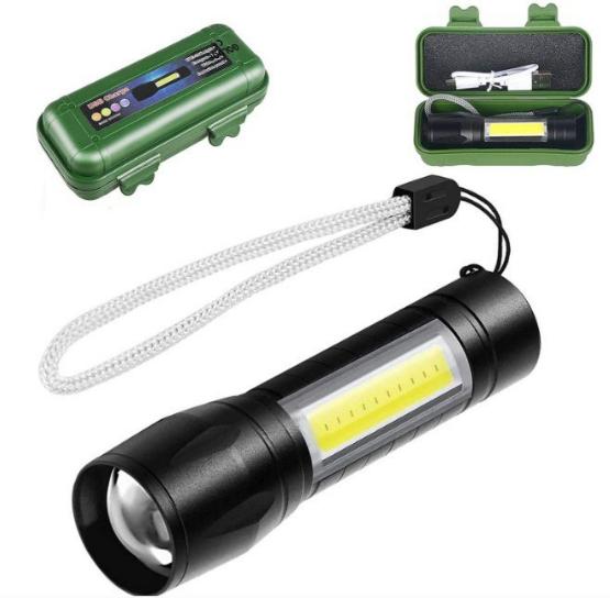 Linterna LED Alta potencia Doble diodo