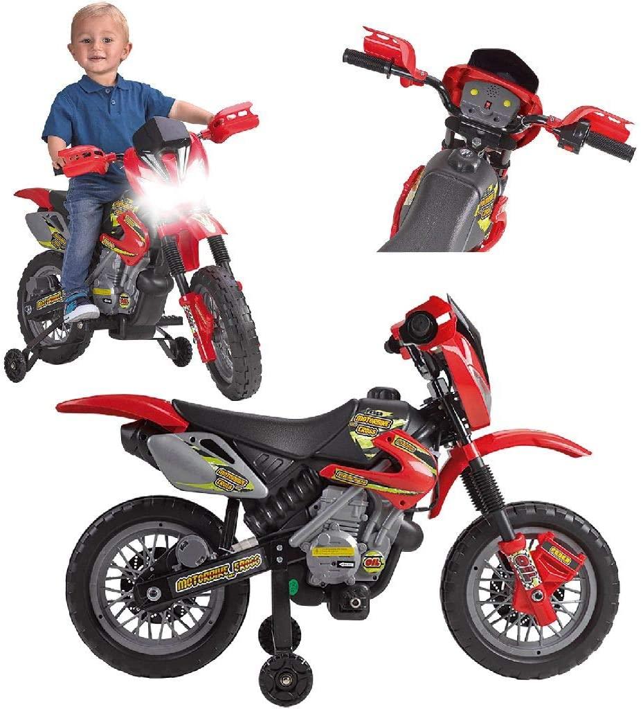 Moto eléctrica para niños FEBER 6V
