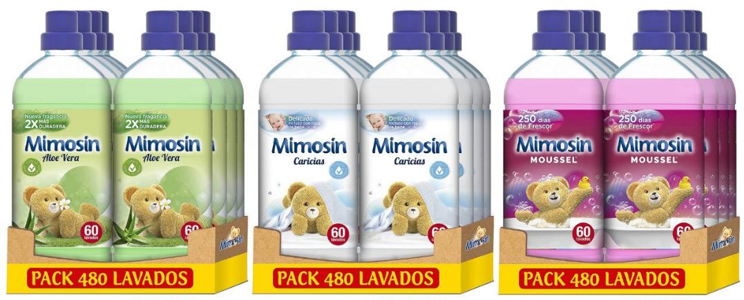 Mimosin Suavizante Concentrado 480 lavados