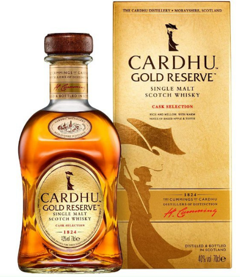 Whisky Escocés Cardhu Gold Reserve 700ml