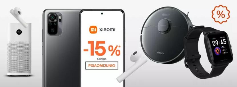 Cupón 15% de dto. en Xiaomi Ebay