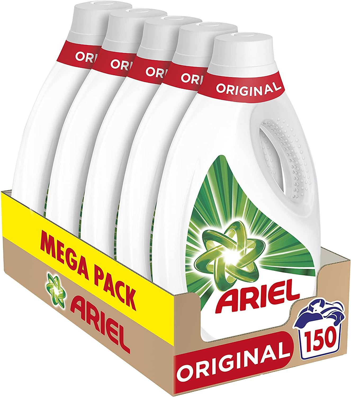 150 Lavados Ariel Detergente para la lavadora