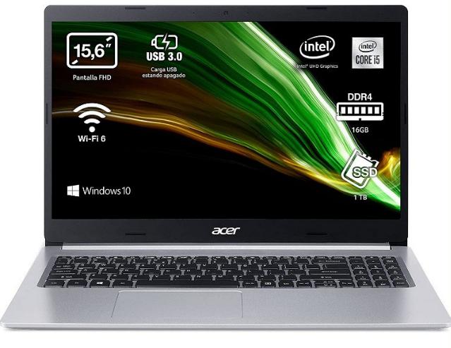 Portátil Acer Aspire 5 16GB/1TB SSD