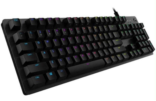 Teclado gaming mecánico Logitech G512 RGB