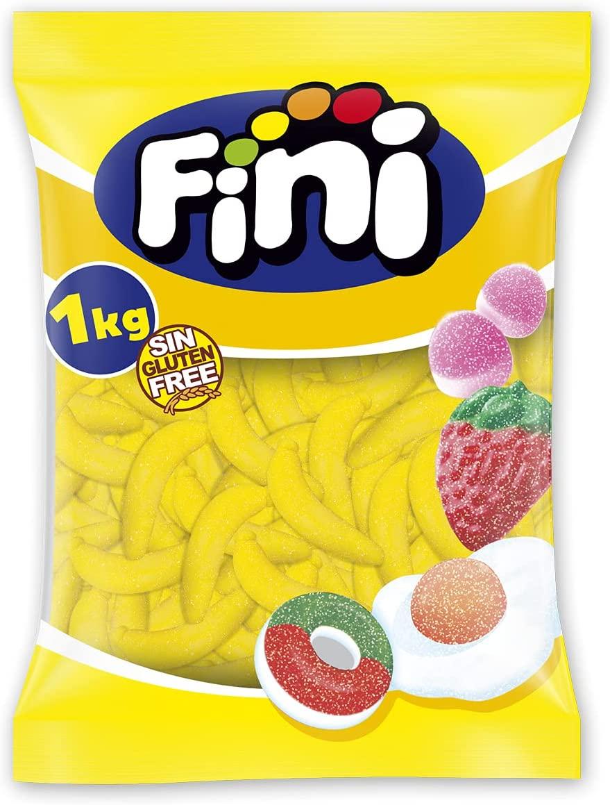1Kg de golosina plátanos Fini
