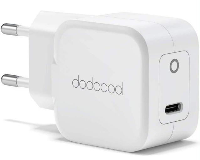 Cargador USB-C 20W Dodocool