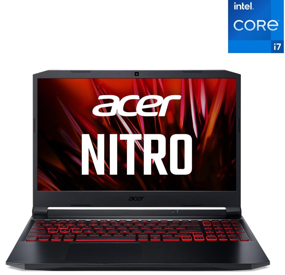 Portátil Gaming Acer Nitro i7 8GB 512GB GTX1650
