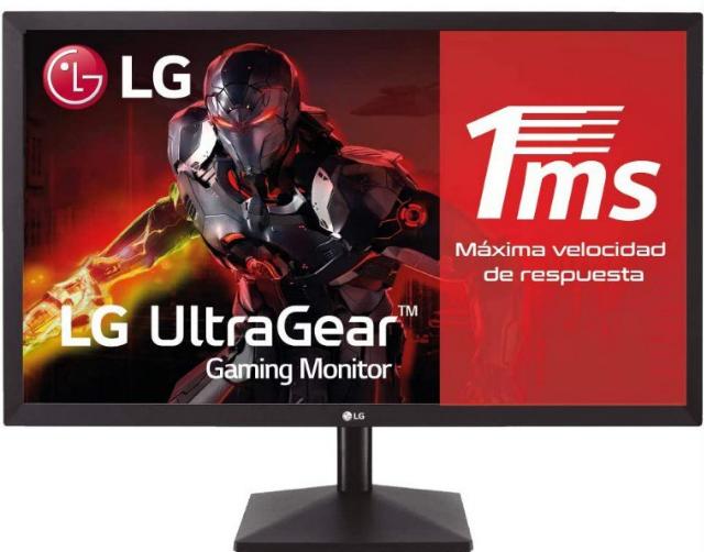 """Monitor Gaming LG 24"""" FHD"""