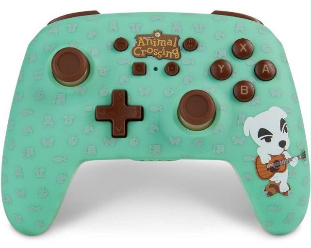 Mando inalámbrico PowerA Nintendo Switch Animal Crossing K.K. Slider