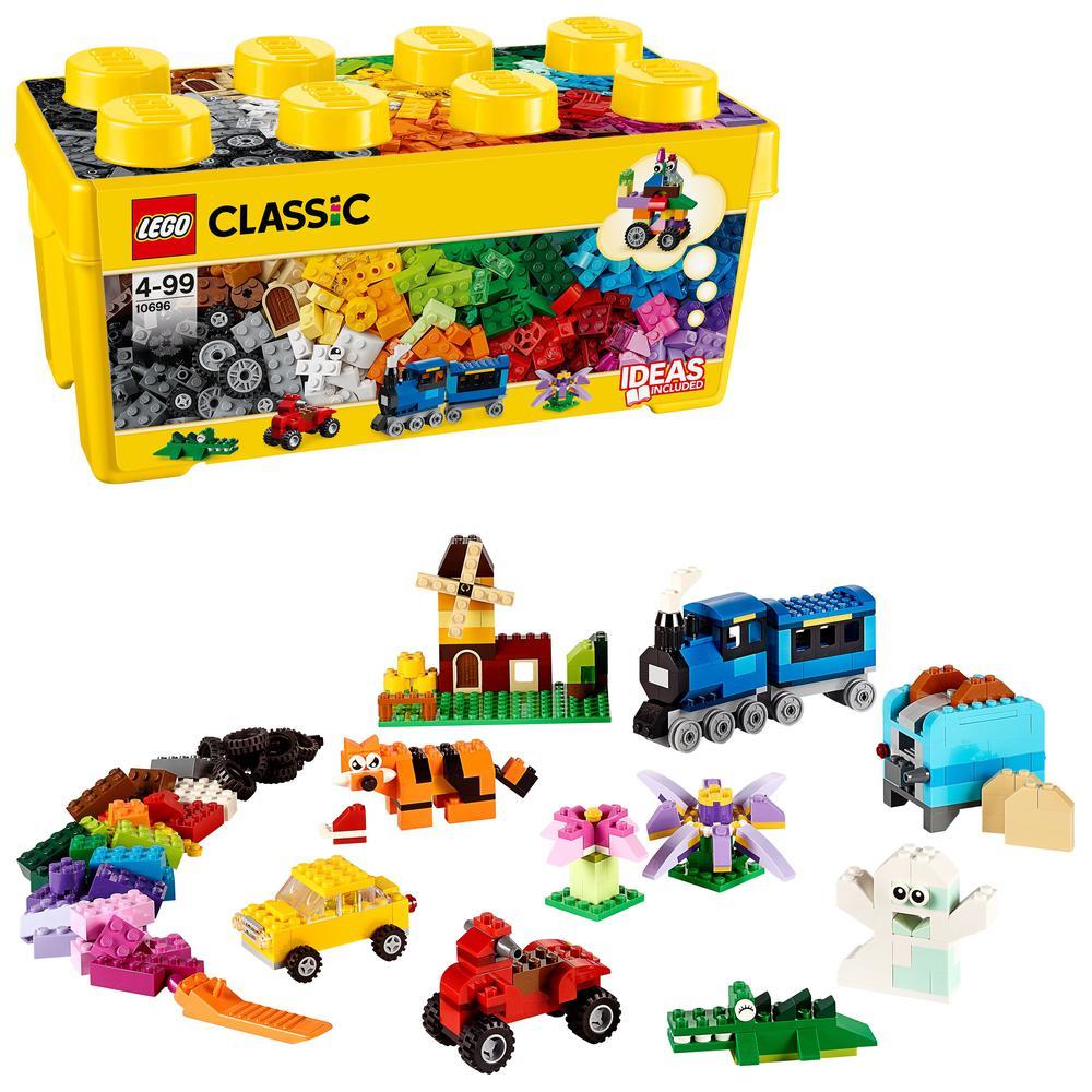 Caja de bloques de Lego Classic Mediana