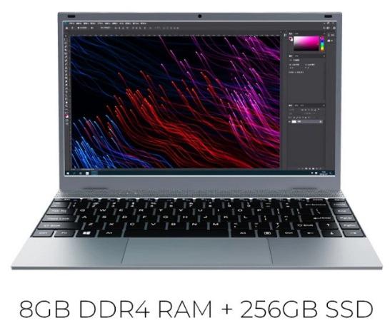 Portátil KUU XBOOK 8GB 256G SSD