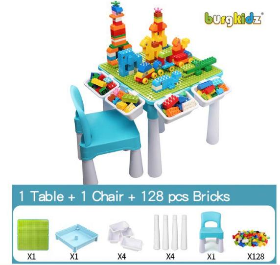 Mesa multifunción de juegos para niños