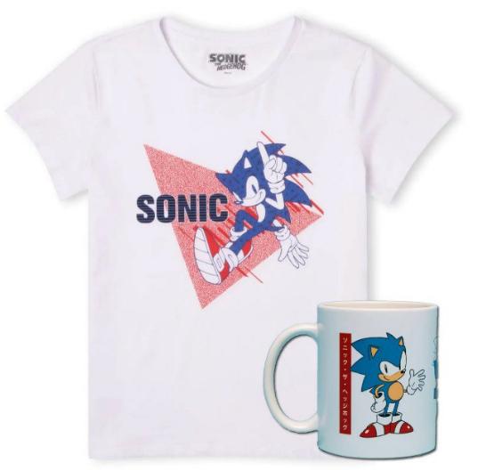 Pack Camiseta + Taza Sonic The Hedgehog