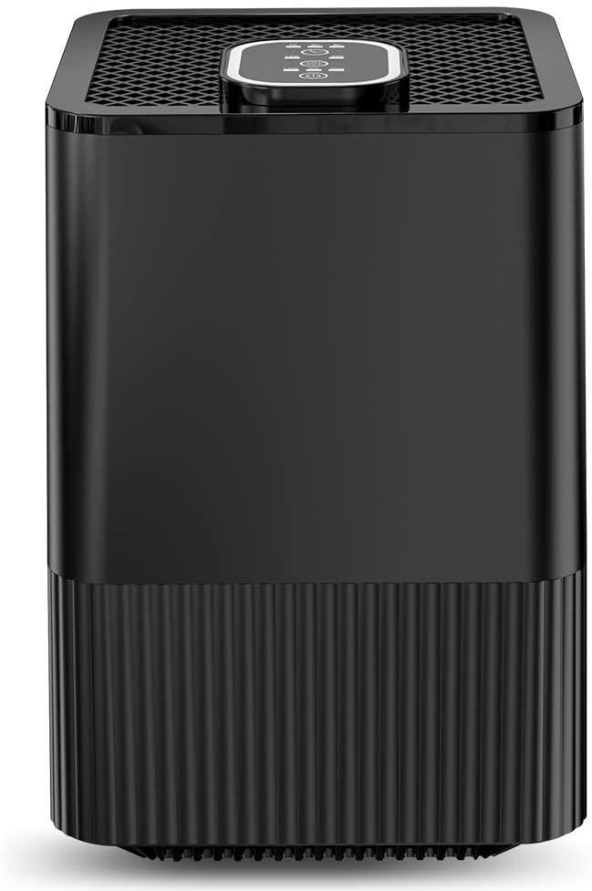 Purificador de aire con filtro HEPA e ionizador