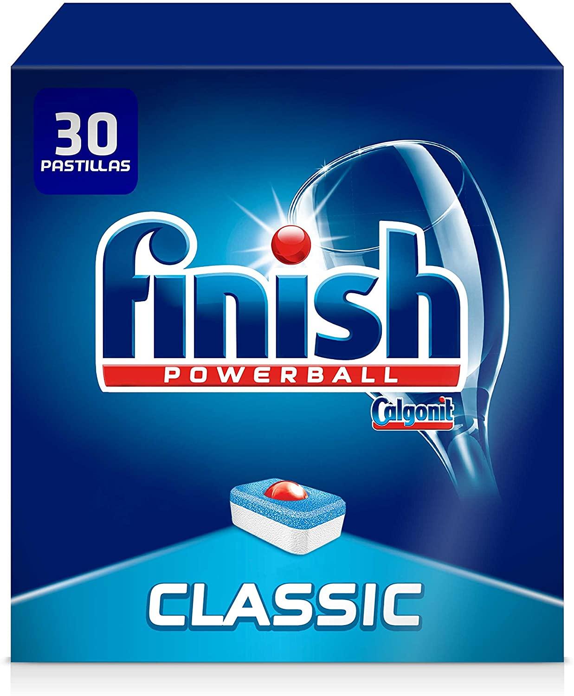 60 Pastillas Finish Powerball All in 1 Max (2x30 pastillas)