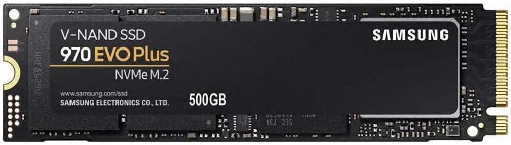 Disco SSD M.2 NVME Samsung 970 EVO Plus 500GB