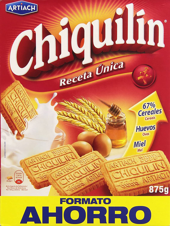 Pack 2 Cajas de galletas Chiquilín