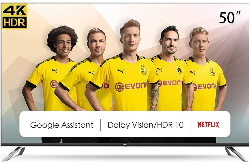 """SmartTV CHiQ 50"""" 4K UHD"""