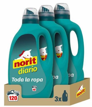 3x Detergente Líquido Norit Diario