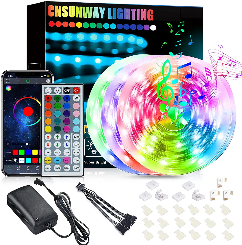 Tira de LED RGB 18 Metros con IR + Bluetooth