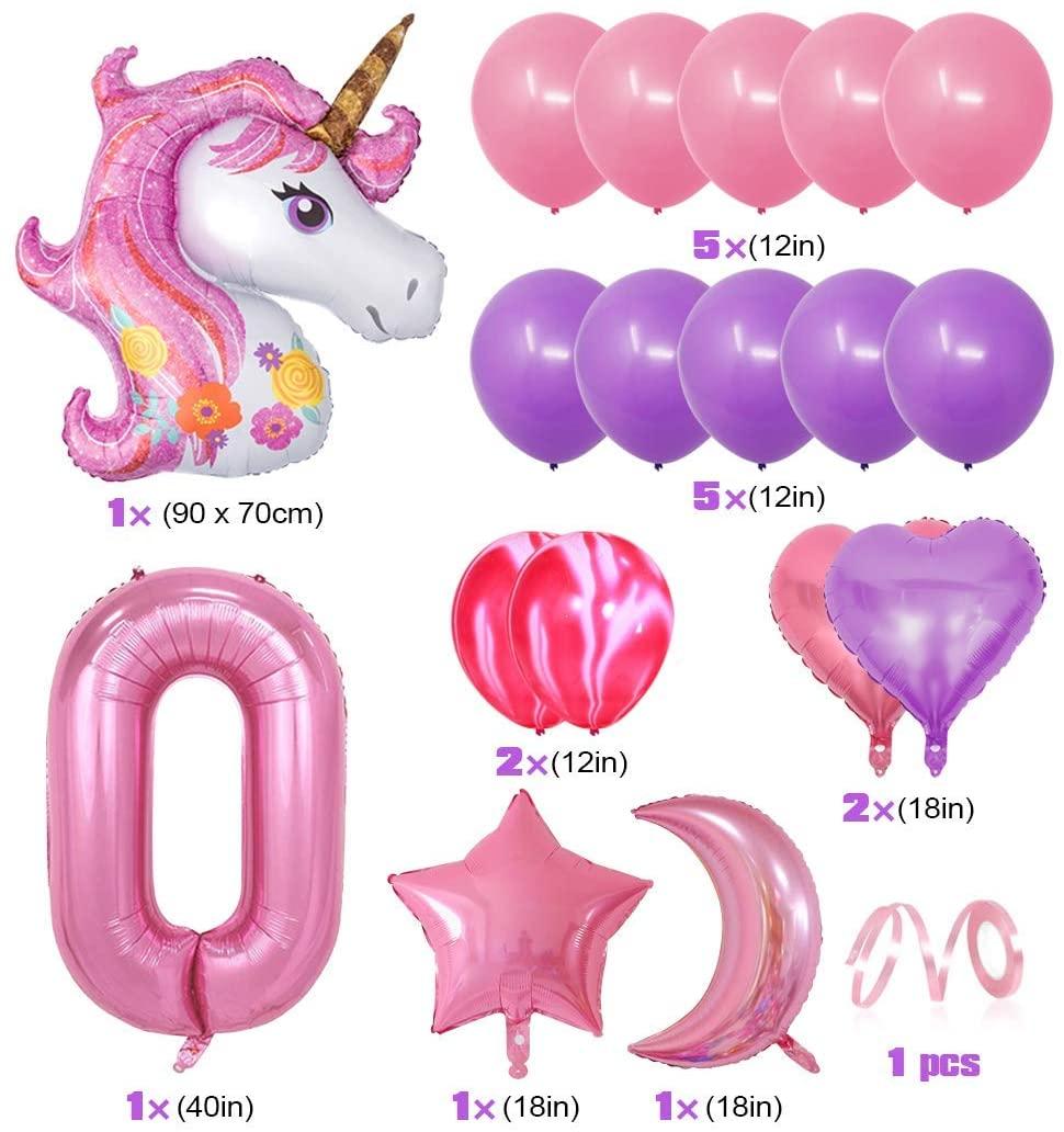 Set Globos para cumpleaños o fiestas