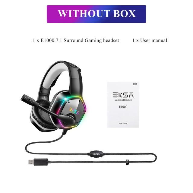 Auriculares Gaming EKSA E1000 7.1 USB