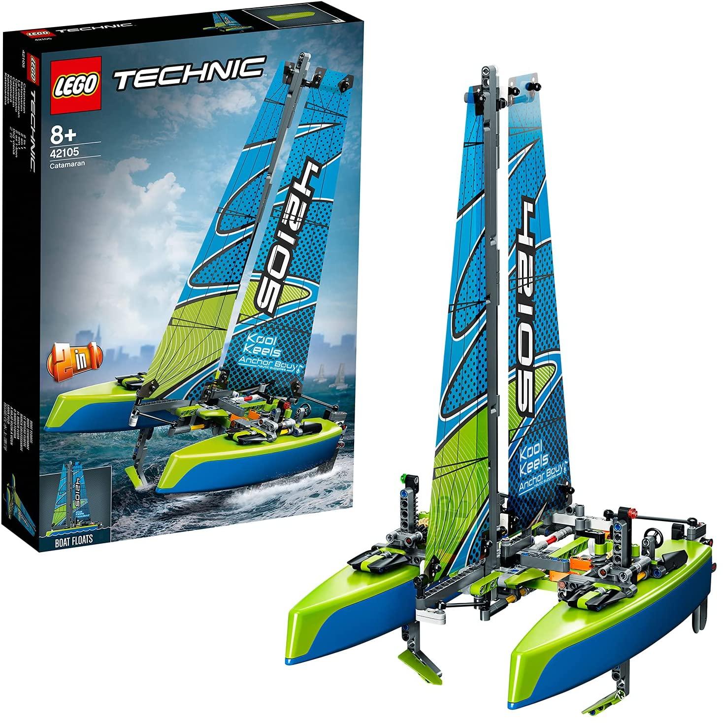 LEGO Technic Catamarán