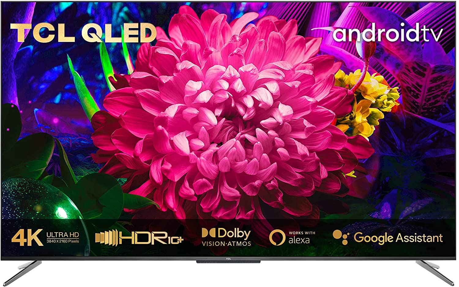 """SmartTV TCL 50"""" UHD 4K Android QLED"""