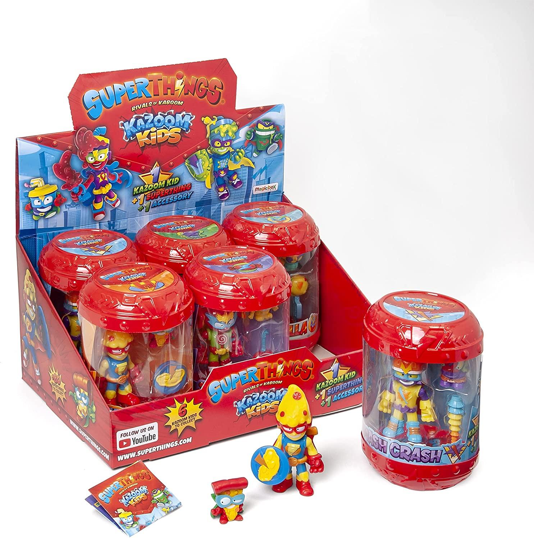 Caja de 6 Kid Box Superthings Kazoom Kids