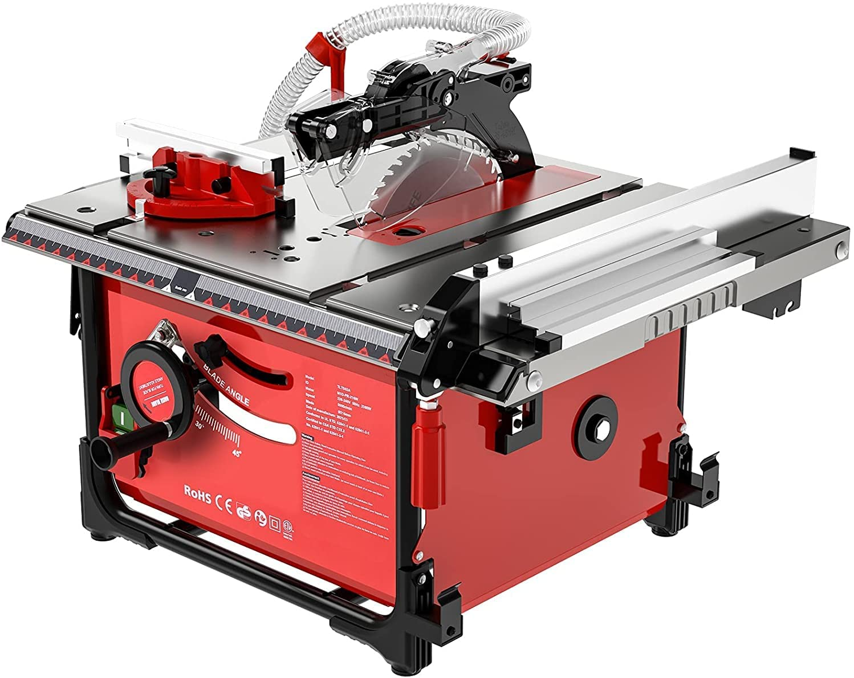 Sierra de mesa de 2000W con extractor de polvo