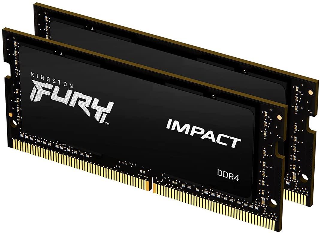 Kingston Fury Impact 64GB (2x32GB) 2666MHz DDR4