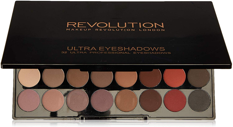 Makeup Revolution Paleta de 32 Sombras Mate