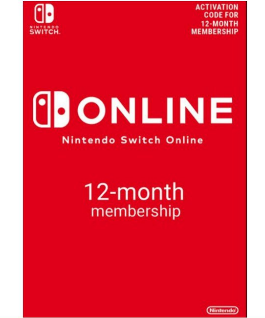 Suscripción 12 Meses Nintendo Switch Online