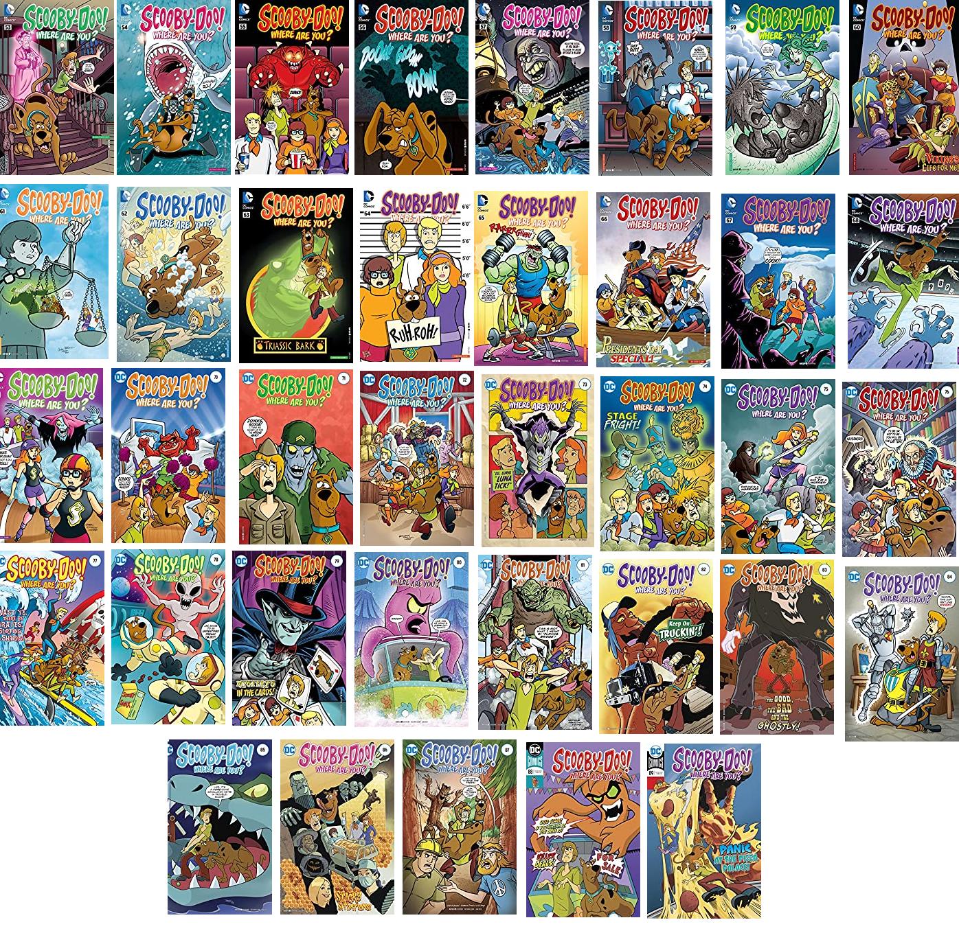 Serie de 37 Cómics: Scooby-Doo, Where Are You? (En Inglés)