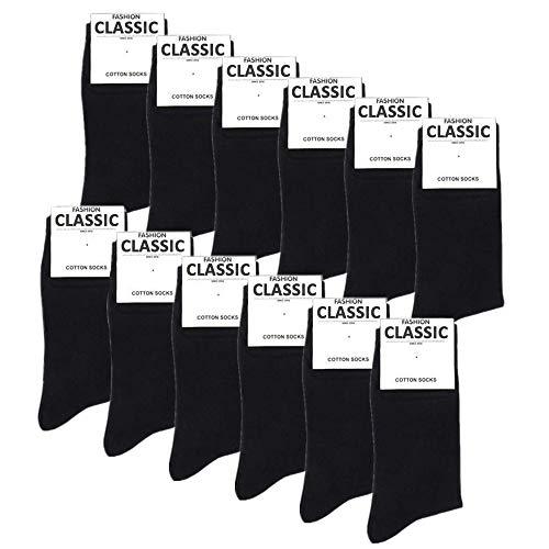 Pack de 12 Pares de Falechay Calcetines Ejecutivo