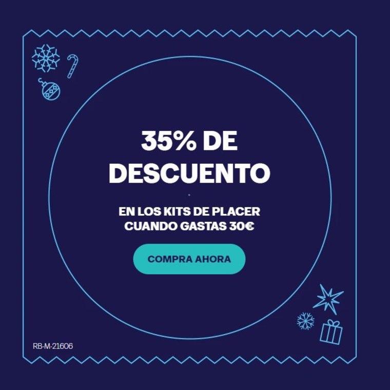 35% de Dto. en Kits de Placer Durex en compras de 30€