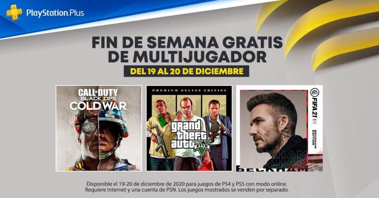Fin de Semana Multijugador en PlayStationPlus  GRATIS|