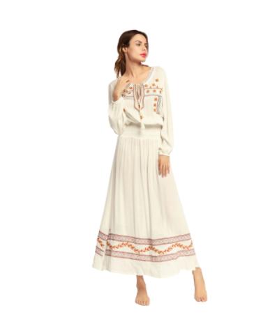 Vestido Largo Clásico Elegante