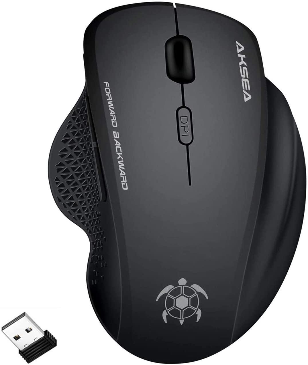 AKSEA Ratón Inalámbrico Gaming