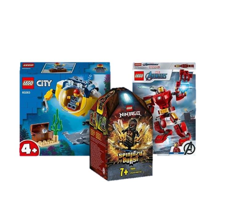 3x Set de Lego en Zavvi