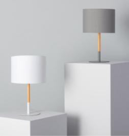 Lámpara de Mesa Silinda para mesa de noche
